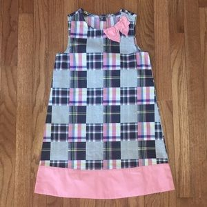 3/$15* NEW- Girls Quilted sear-sucker Dress
